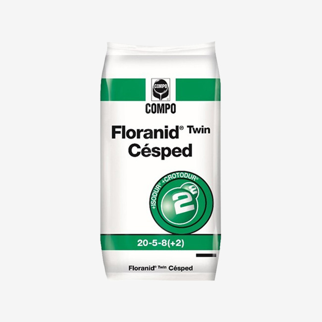 Floranid twin cesped 25 kg.