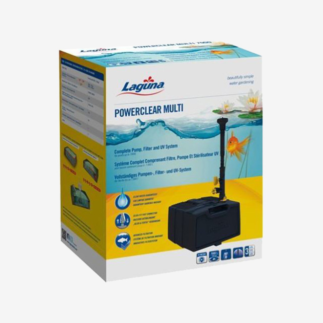 Laguna Power Clear multi 7000 uv 9w filtro estanques.